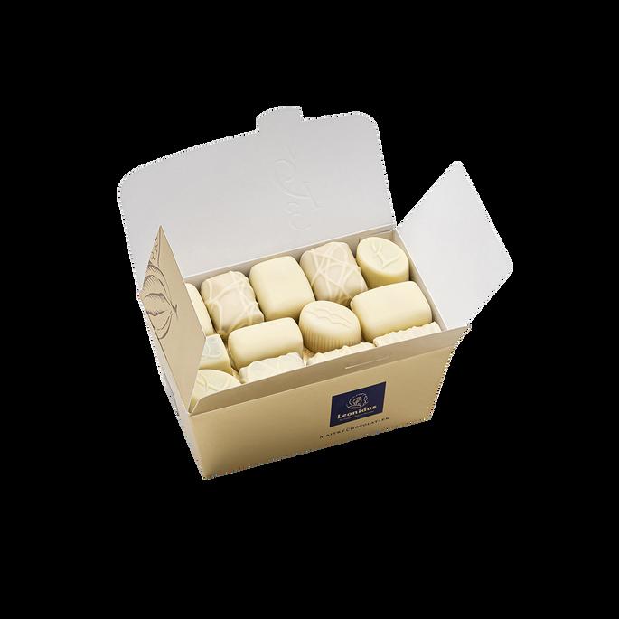 Leonidas Ballotin of White Chocolate, 500 g