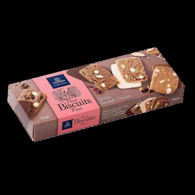 Leonidas Assortiment De Biscuits Aux 3 Chocolats
