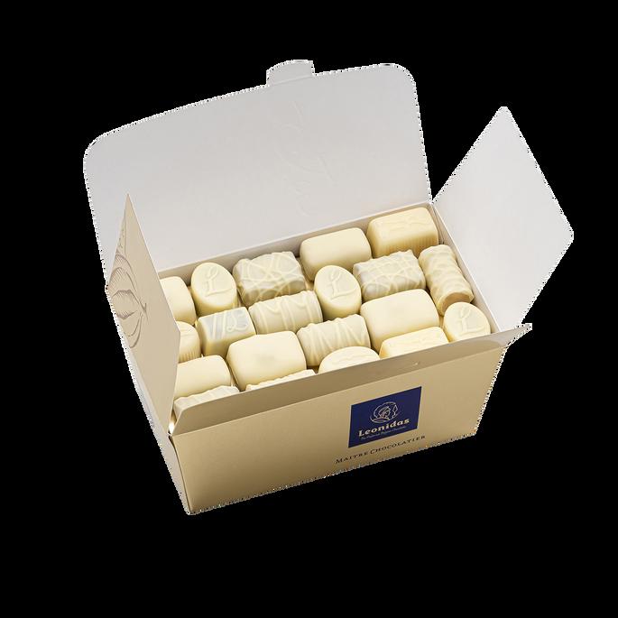 Leonidas Ballotin weiße Schokolade, 1kg