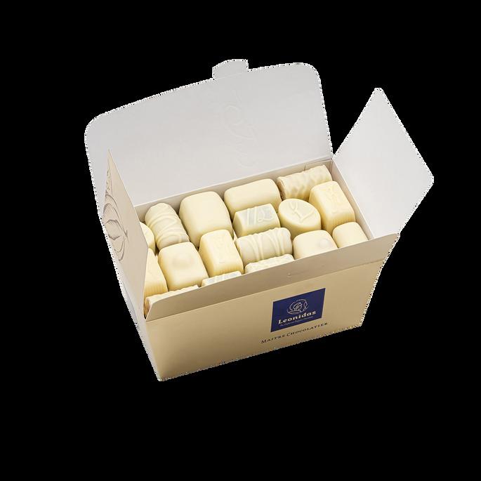 Leonidas Ballotin Chocolat Blanc, 750 g