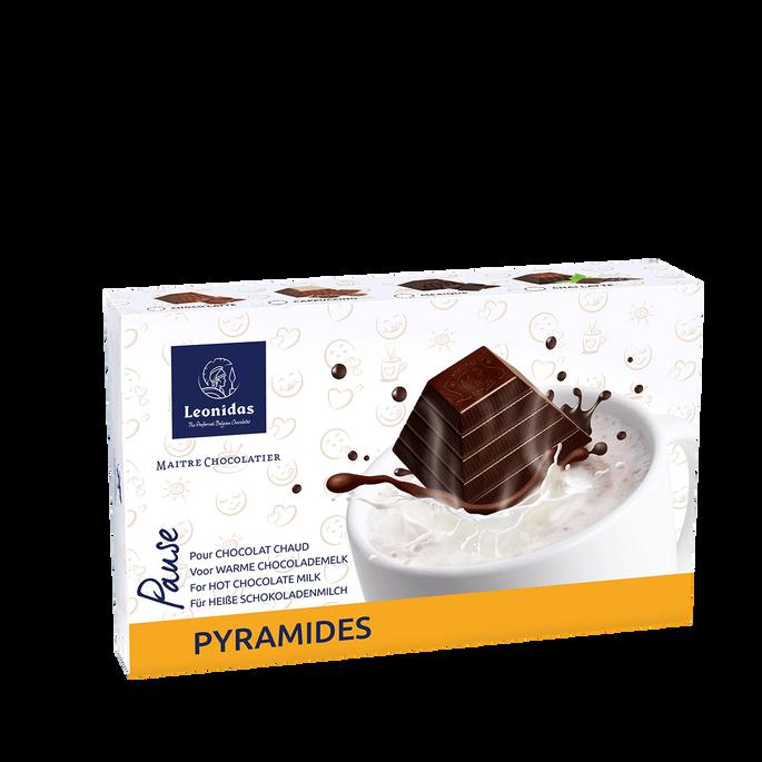 Leonidas Box of 8 Hot Chocolate Pyramides