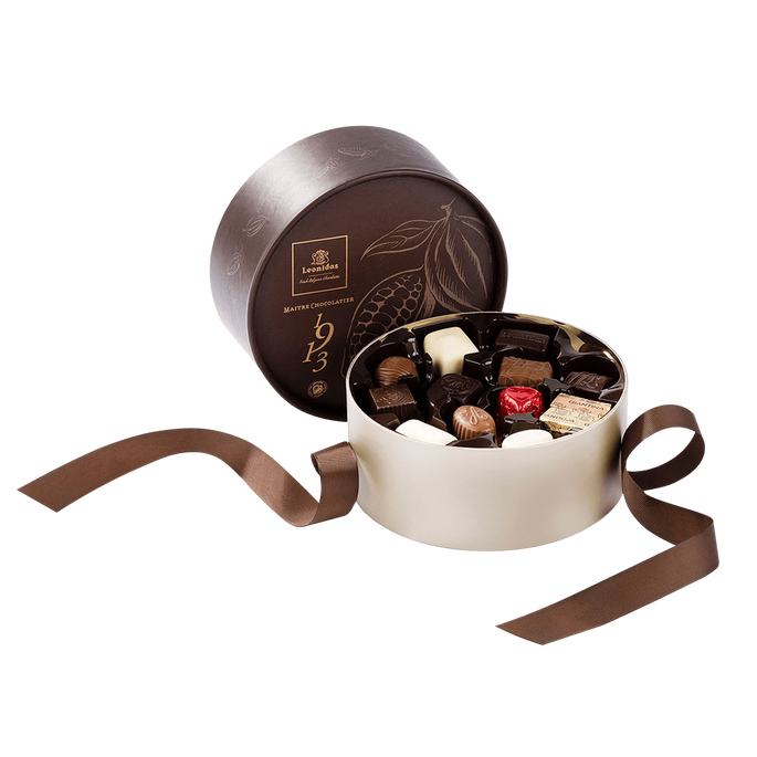 Leonidas Round Gift Box, 24pcs
